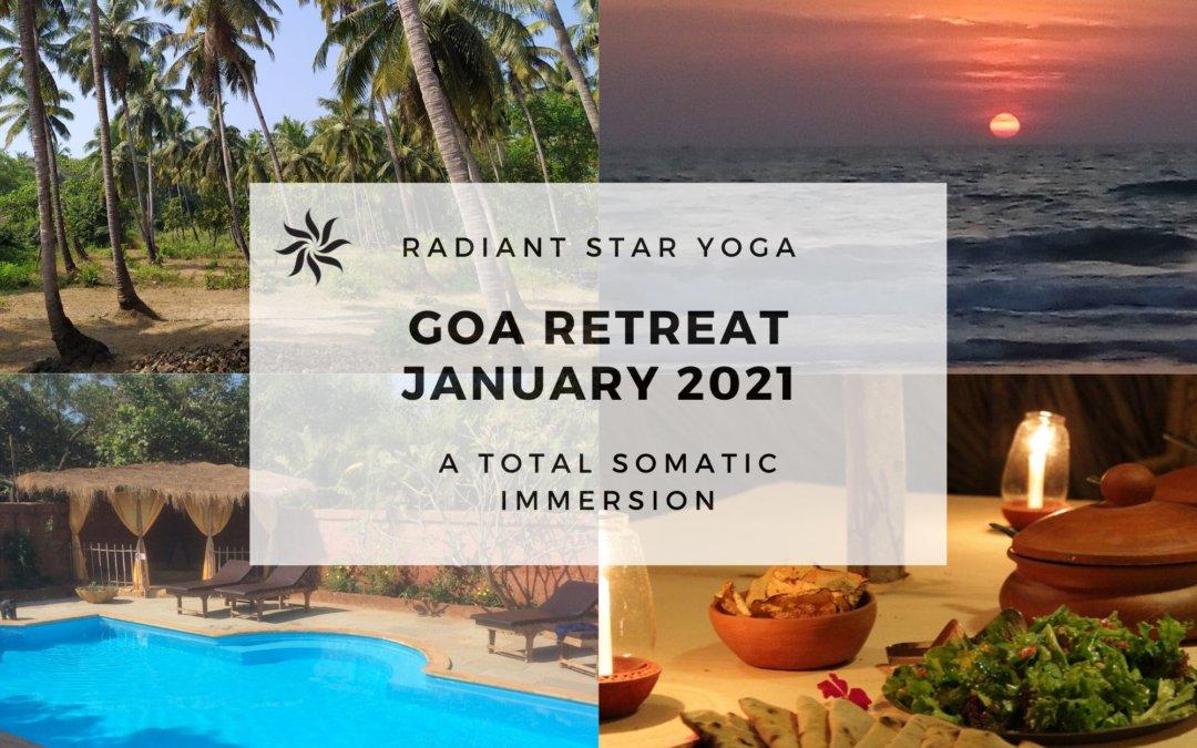 A 10 Day Somatic Immersion at Banyam Tree Yoga, Goa